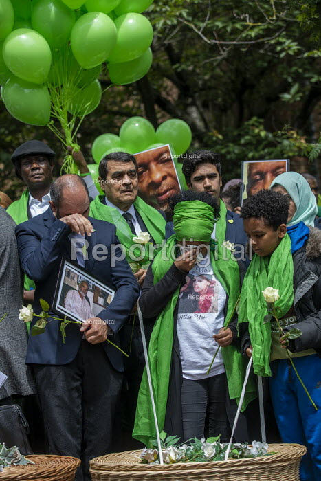 Grenfell fire 2nd anniversary memorial procession from St Helen's Church, Kensington, London - Jess Hurd - 2019-06-14