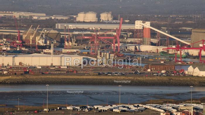 Royal Portbury Dock, Avonmouth, automotive import and export - Paul Box - 2019-02-14