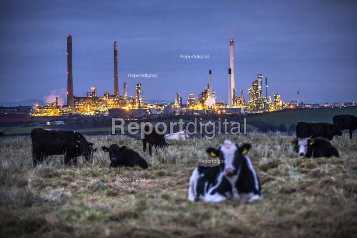 Valero Oil Refinery, Rhoscrowther, Pembroke, Pembrokeshire - Paul Box - 2017-05-03