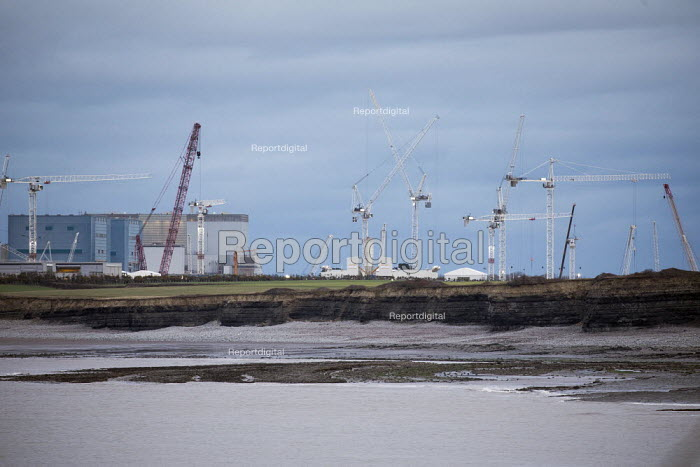 Hinkley Point C Nuclear power station under construction, Somerset - Paul Box - 2017-05-03