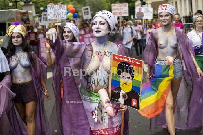The Imams of Perpetual Indulgence, Pride in London 2019 - Jess Hurd - 2019-07-06