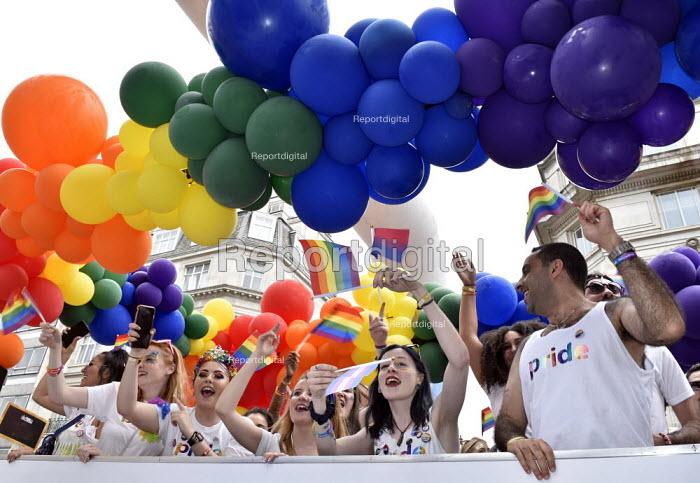Pride in London 2019, parade through LondonPride in London 2019, parade through LondonPride in London 2019, parade through LondonPride in London 2019, parade through London - Stefano Cagnoni - 2019-07-06