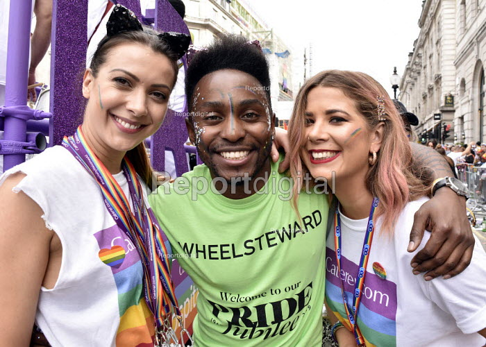 Pride in London 2019, parade through LondonPride in London 2019, parade through LondonPride in London 2019, parade through LondonPride in London 2019, parade through London - Stefano Cagnoni - 2019-07-06