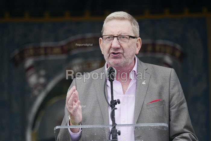 Len McCluskey, Unite, 2019 Durham Miners Gala - Mark Pinder - 2019-07-13