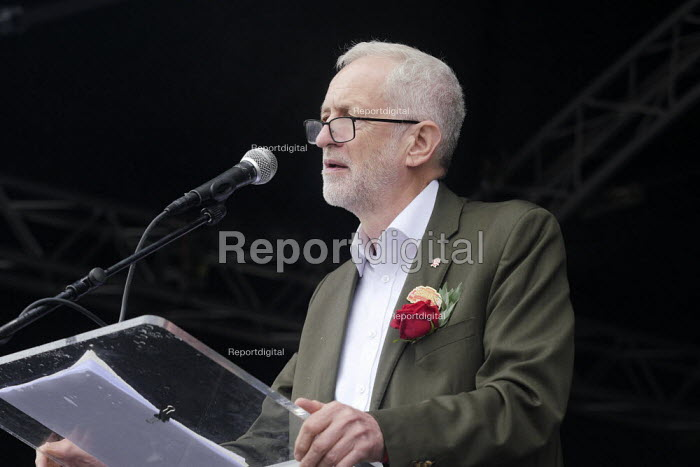 Jeremy Corbyn, 2019 Durham Miners Gala - Mark Pinder - 2019-07-13