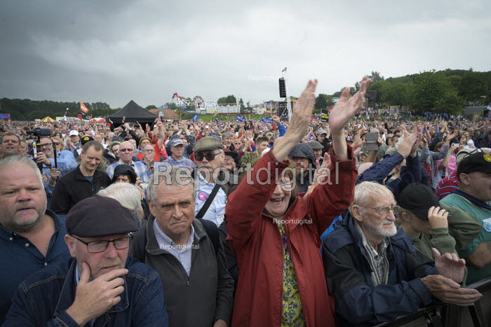 2019 Durham Miners Gala, supporters - Mark Pinder - 2019-07-13