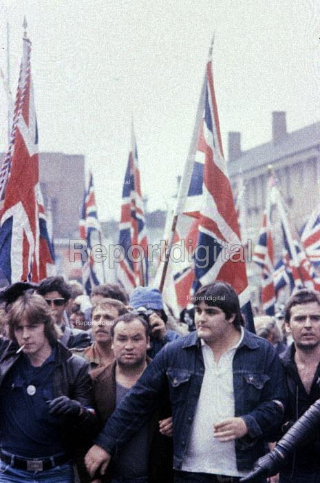 National Front demonstration London 1974 - Mike Tomlinson - 1974-09-06