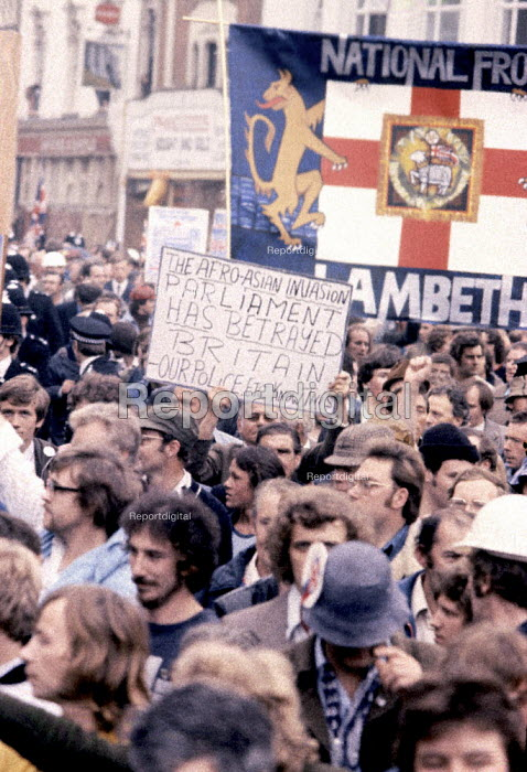 National Front demonstration London 1974 - Mike Tomlinson - 1974-09-06