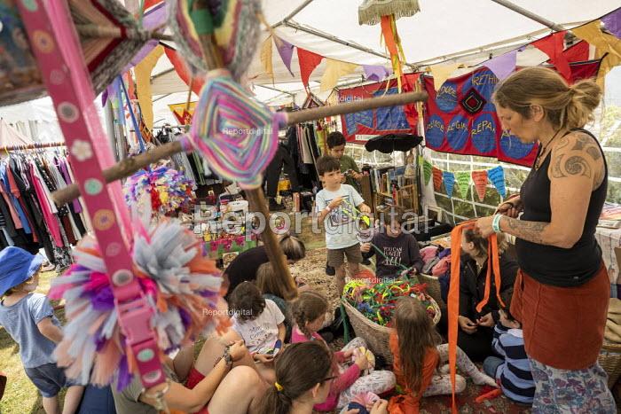 Kids Area, Tolpuddle Martyrs Festival, Dorset - Jess Hurd - 2019-07-21