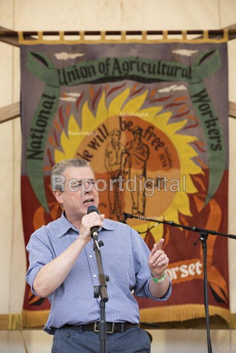 Mark Serwotka PCS, Tolpuddle Martyrs Festival, Dorset. - Jess Hurd - 2019-07-21