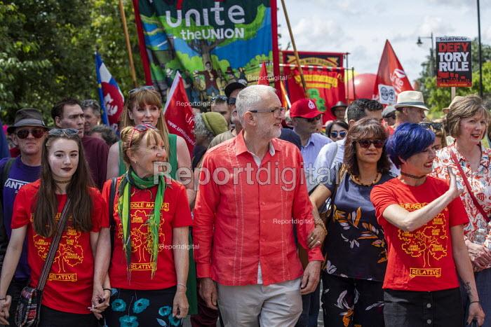 Jeremy Corbyn at Tolpuddle Martyrs Festival, Dorset. - Jess Hurd - 2019-07-21