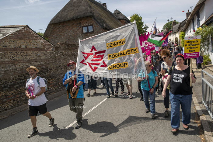 Jewish Socialists' Group, Tolpuddle Martyrs Festival, Dorset. - Jess Hurd - 2019-07-21