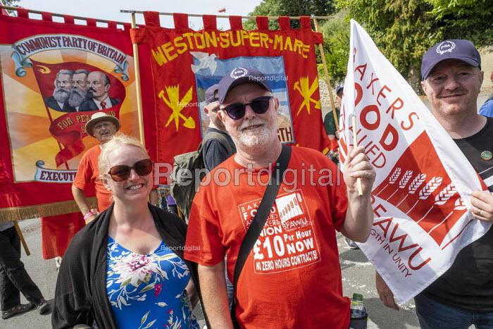 Ronnie Draper, BFAWU, Tolpuddle Martyrs Festival, Dorset. - Jess Hurd - 2019-07-21