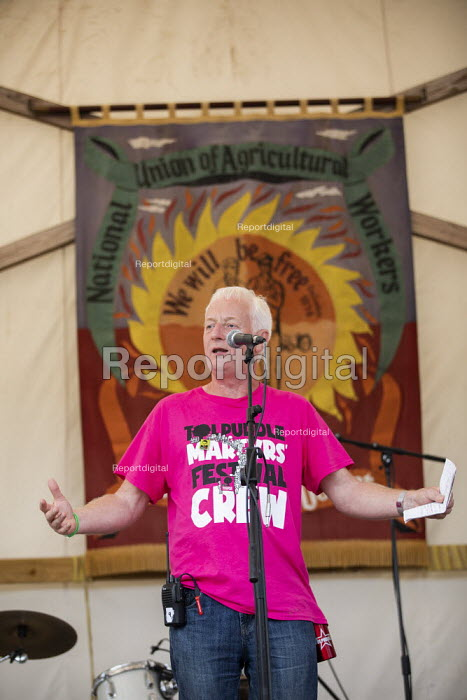 Nigel Costley, TUC, Tolpuddle Martyrs Festival, Dorset. - Jess Hurd - 2019-07-21