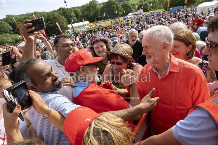 Jeremy Corbyn, Tolpuddle Martyrs Festival, Dorset. - Jess Hurd - 2019-07-21