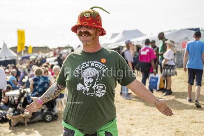 Fuck Boris, RMT T-shirt, Tolpuddle Martyrs Festival, Dorset - Jess Hurd - 2019-07-21