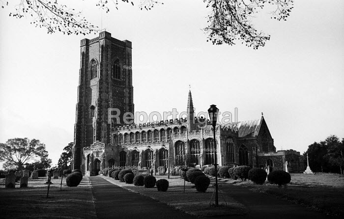 Parish Church of St Peter and St Paul Lavenham Suffolk 1958 - Kurt Hutton - 1958-10-20