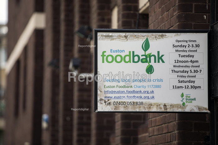 Euston foodbank, Trussell Trust, London - Jess Hurd - 2019-08-01