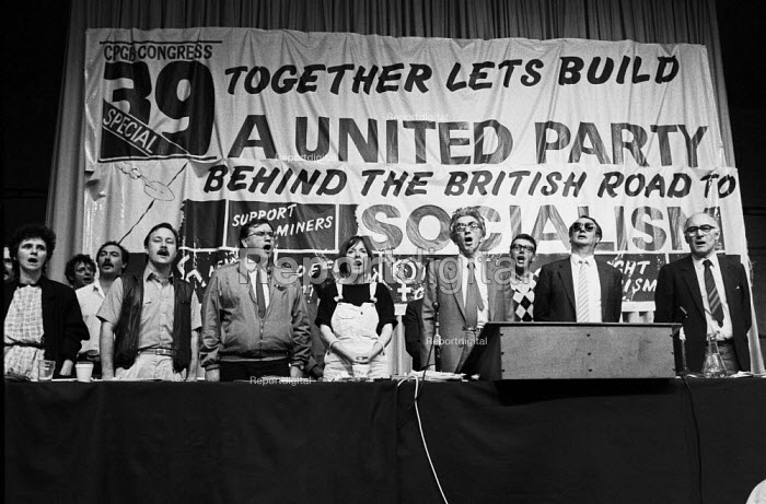 Communist Party 39th Congress London 1985. The party was splitting - Peter Arkell - 1985-05-20