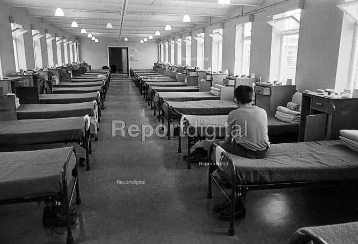 Youth in the dormitory, Send Detention Centre, Woking... - Martin Mayer, MM1905007.jpg