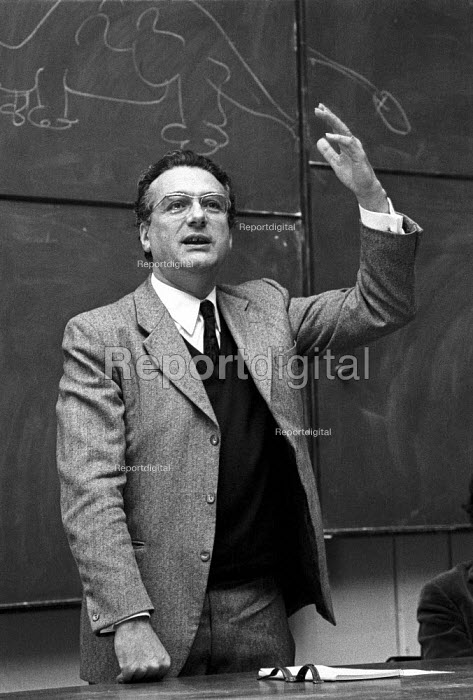 Ernest Mandel speaking, London, 1972 - Peter Arkell - 1972-10-21