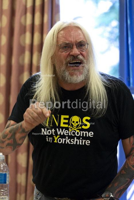 Tosh McDonald speaking General Election now! meeting Nottingham - John Harris - 2019-08-15