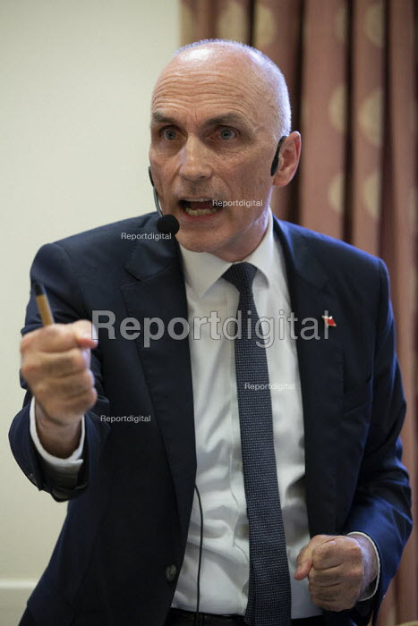 Chris Williamson MP speaking General Election now! meeting... - John Harris, J1908142.jpg