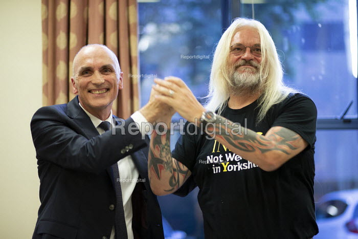 Chris Williamson MP speaking, Tosh McDonald, General Election now! meeting Nottingham - John Harris - 2019-08-15