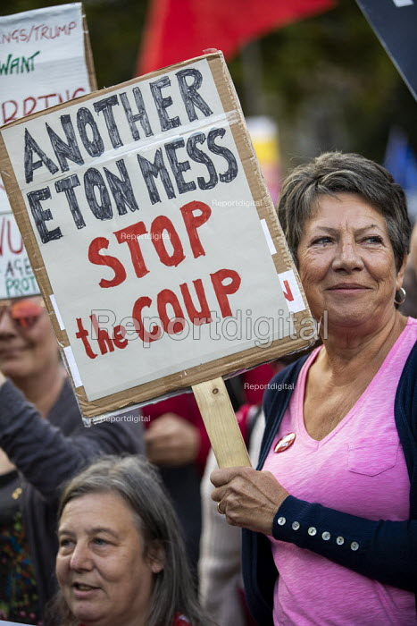 Stop Boris Johnson - General Election Now, People's Assembly Against Austerity protest, Parliament Square, Westminster, London. - Jess Hurd - 2019-09-03