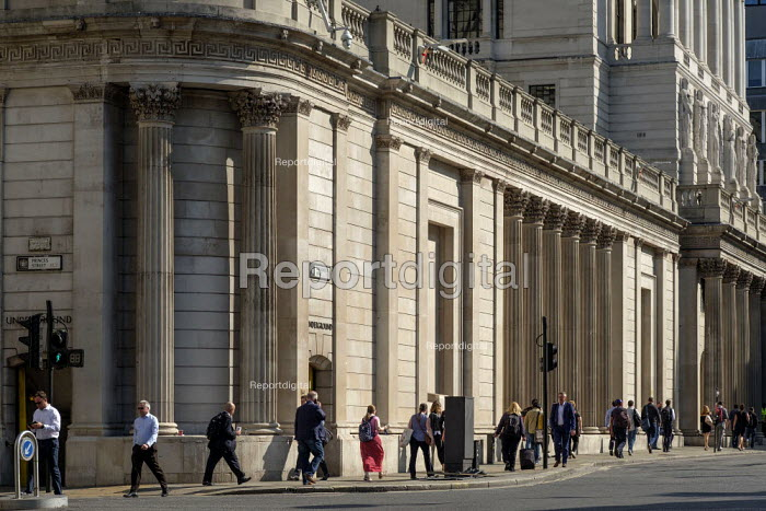 Bank of England, Threadneedle Street, City of London. - Philip Wolmuth - 2019-08-13