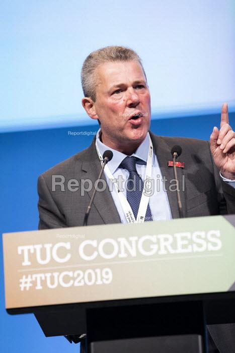 Mark Serwotka Presidents Address, TUC Congress, Brighton 2019. - Jess Hurd - 2019-09-08