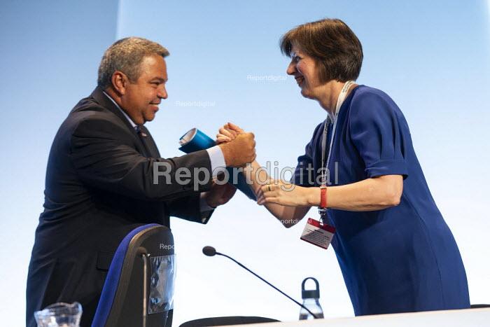 Cuba speaker, TUC Congress, Brighton 2019. - Jess Hurd - 2019-09-08
