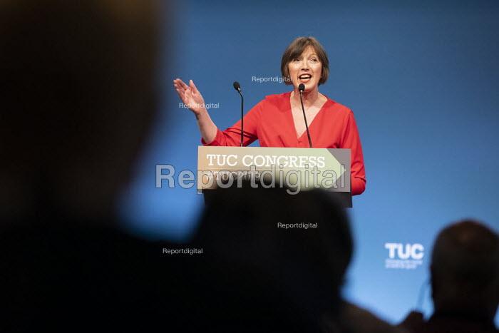 Frances O'Grady speaking TUC Congress, Brighton 2019 - Jess Hurd - 2019-09-09