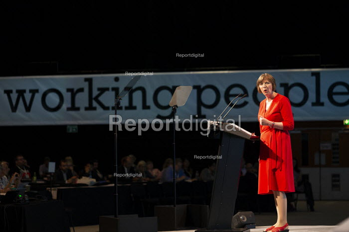 Frances O'Grady speaking TUC Conference, Brighton, 2019 - John Harris - 2019-09-13