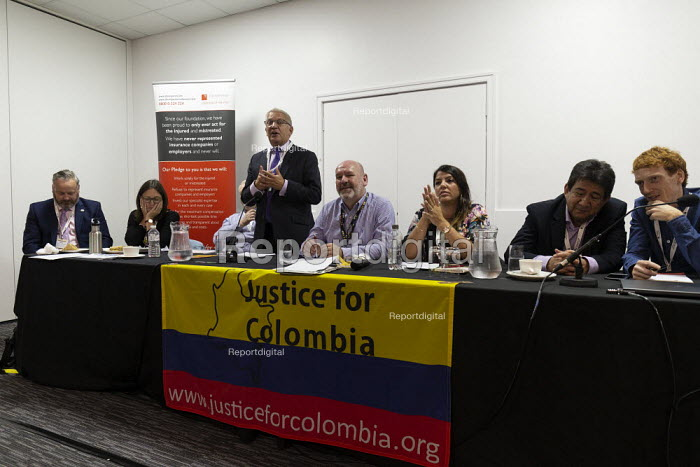 Justice for Colombia fringe meeting fringe meeting, TUC Conference, Brighton, 2019 - John Harris - 2019-09-14