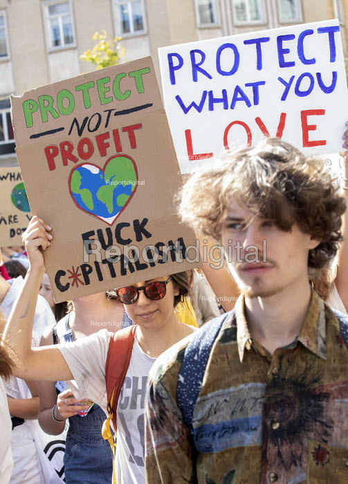 Global Climate Strike protest, Bristol - Paul Box - 2019-09-20