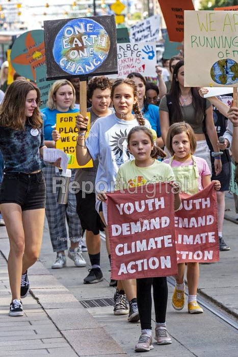 Detroit, Michigan, USA Global Climate Strike protest - Jim West - 2019-09-20