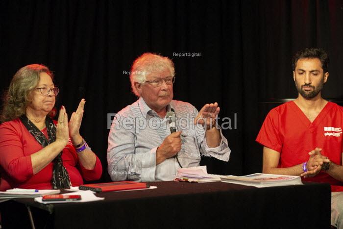 Deborah Burger RNU America, Dr John Lister Speaking, Taking the NHS off the table, TWT, Brighton - John Harris - 2019-09-22