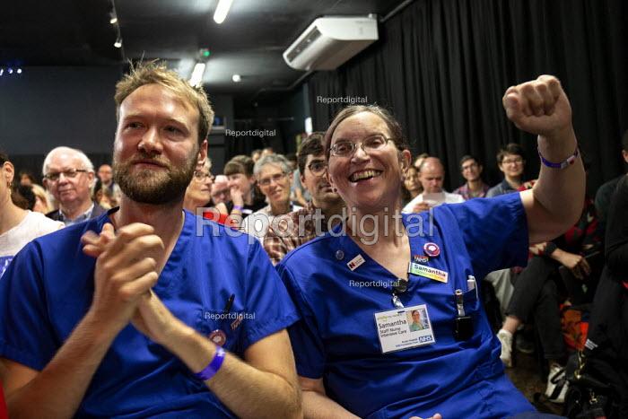 Taking the NHS off the table, TWT, Brighton - John Harris - 2019-09-22
