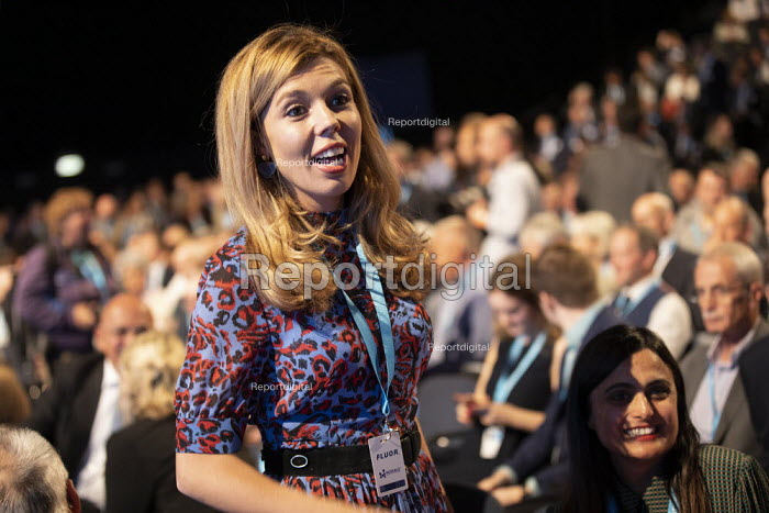 Carrie Symonds Conservative Party Conference, Manchester, 2019 - Jess Hurd - 2019-09-30