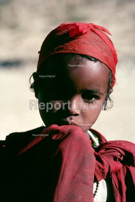 Ethiopian child, Borama refugee camp, Somalia, 1980 - Masanori Kobayashi - 1980-05-03