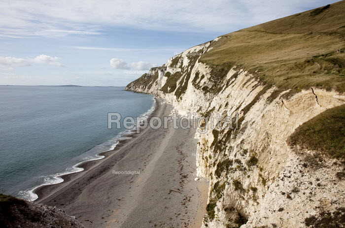 South West Coast Footpath, the 554 ft cliffs of White Nothe, Dorset - David Mansell - 2015-10-25