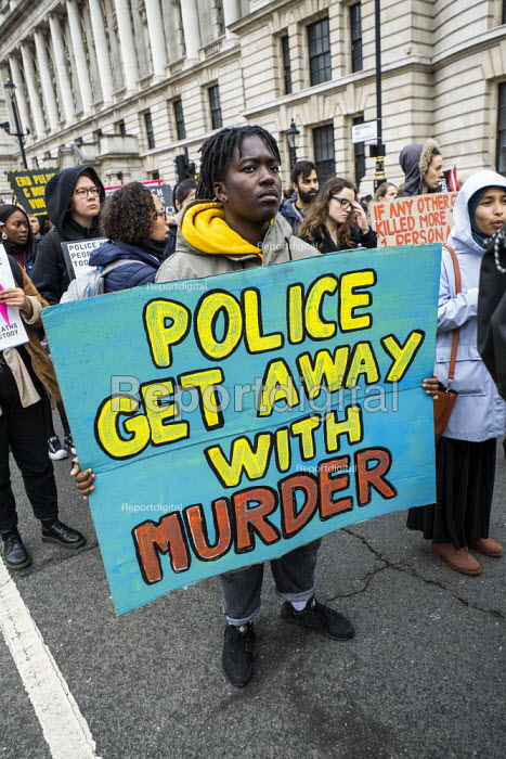 Annual United Families and Friends Campaign march against deaths in police custody, Whitehall, Westminster, London. - Jess Hurd - 2019-10-26