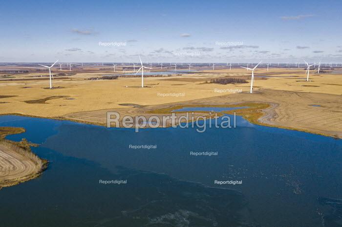 North Dakota, USA, Wind farm, Ashtabula Wind Energy Center - Jim West - 2017-09-14