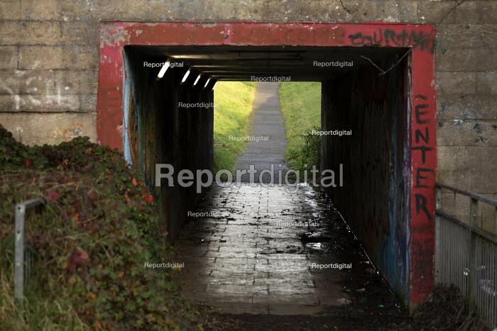Underpass, Hazel Leys, Corby, Northamptonshire - John Harris - 2019-12-07