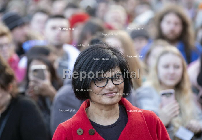 Thangam Debbonaire MP speaking Labour Party election campaign rally Bristol - Paul Box - 2019-12-09