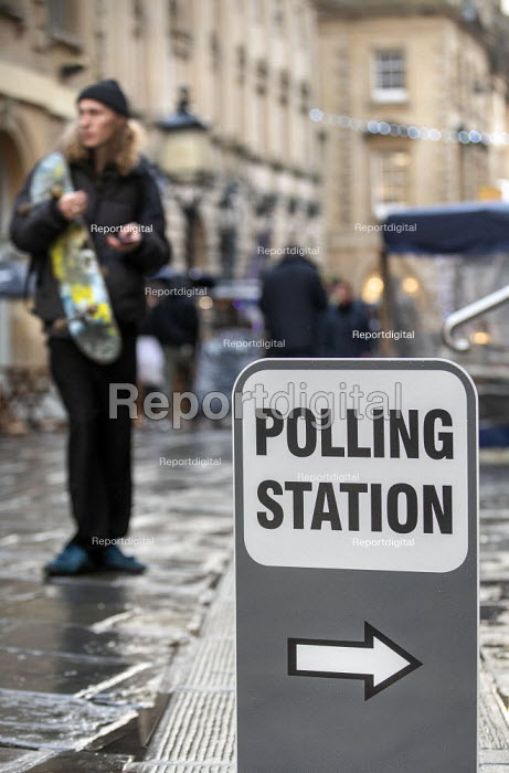 Bristol registry office, Polling Station, Bristol - Paul Box - 2019-12-12