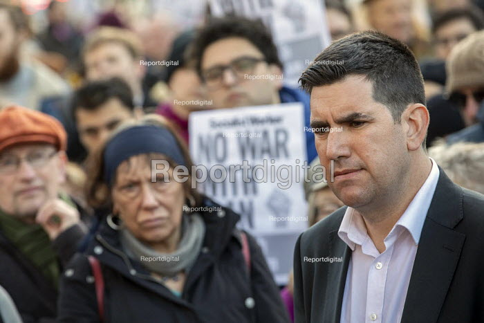 Richard Burgon speaking No War With Iran protest after the... - Jess Hurd, jj2001004.jpg