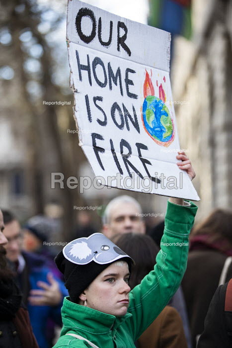 Demand Action on Australian Fires, Extinction Rebellion protest, Australian High Commission, London - Jess Hurd - 2020-01-10