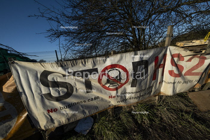 Stop HS2 protest camp against the destruction of 108 ancient woodlands, Colne Valley, Uxbridge - Jess Hurd - 2020-01-18